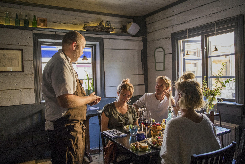 Restaurang i Visby