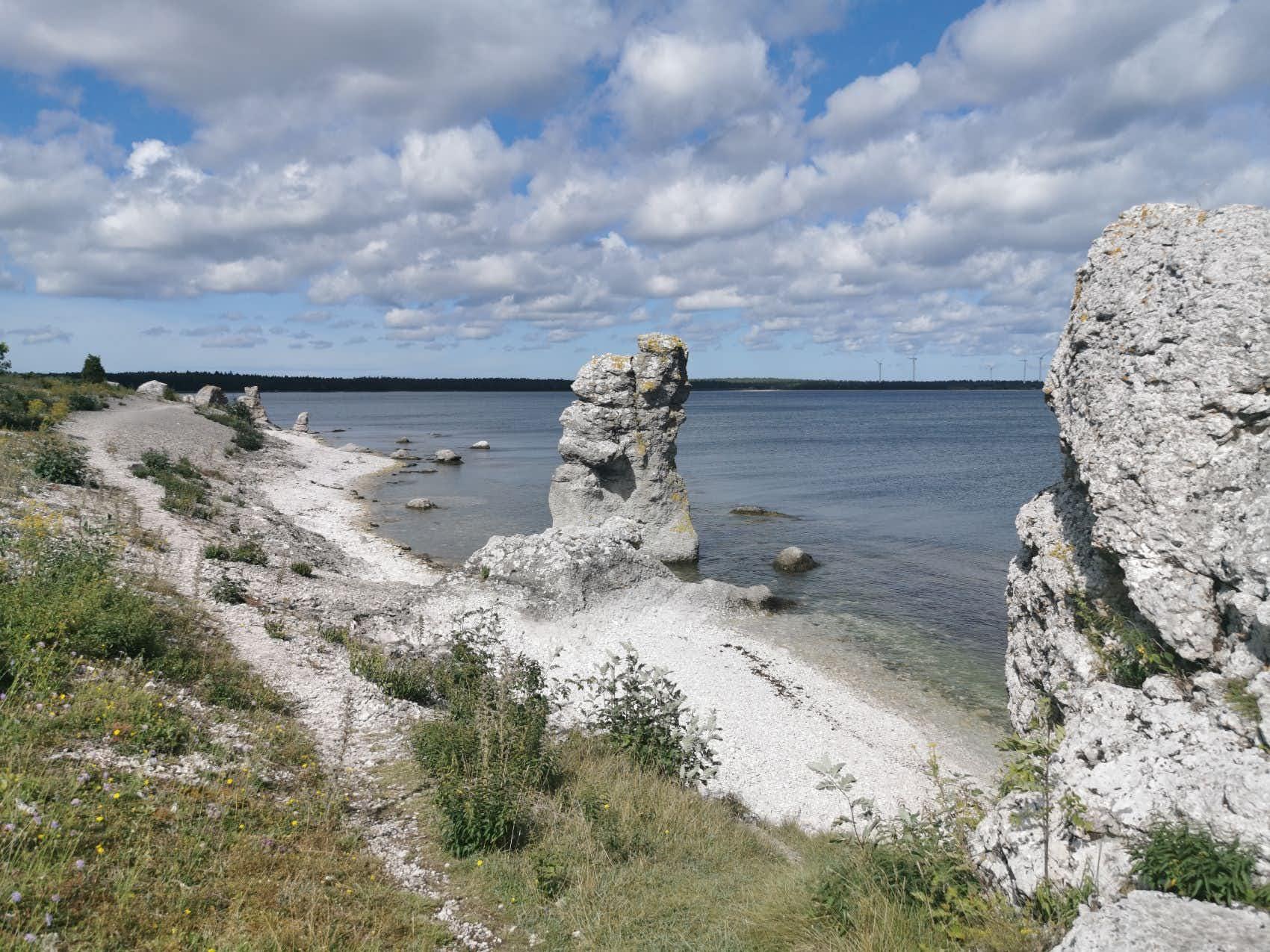 Sankt Olofsholm på nordöstra Gotland
