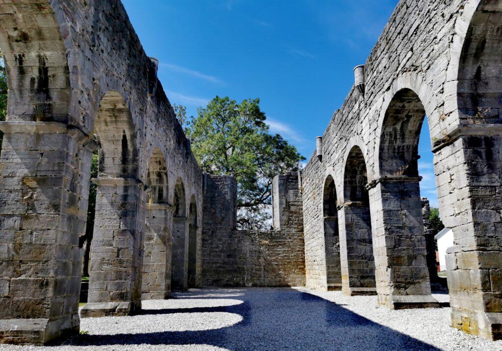 Roma klosterruin