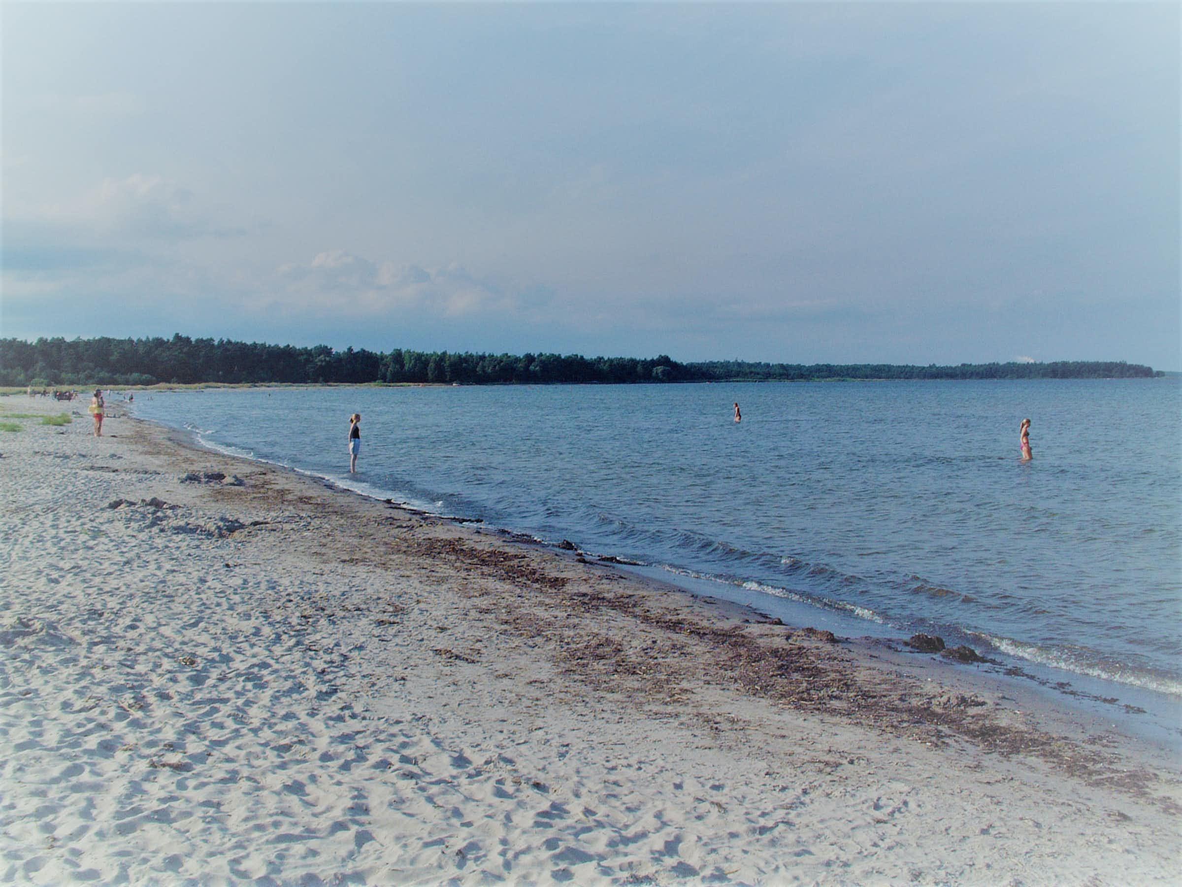 Stranden i Åminne