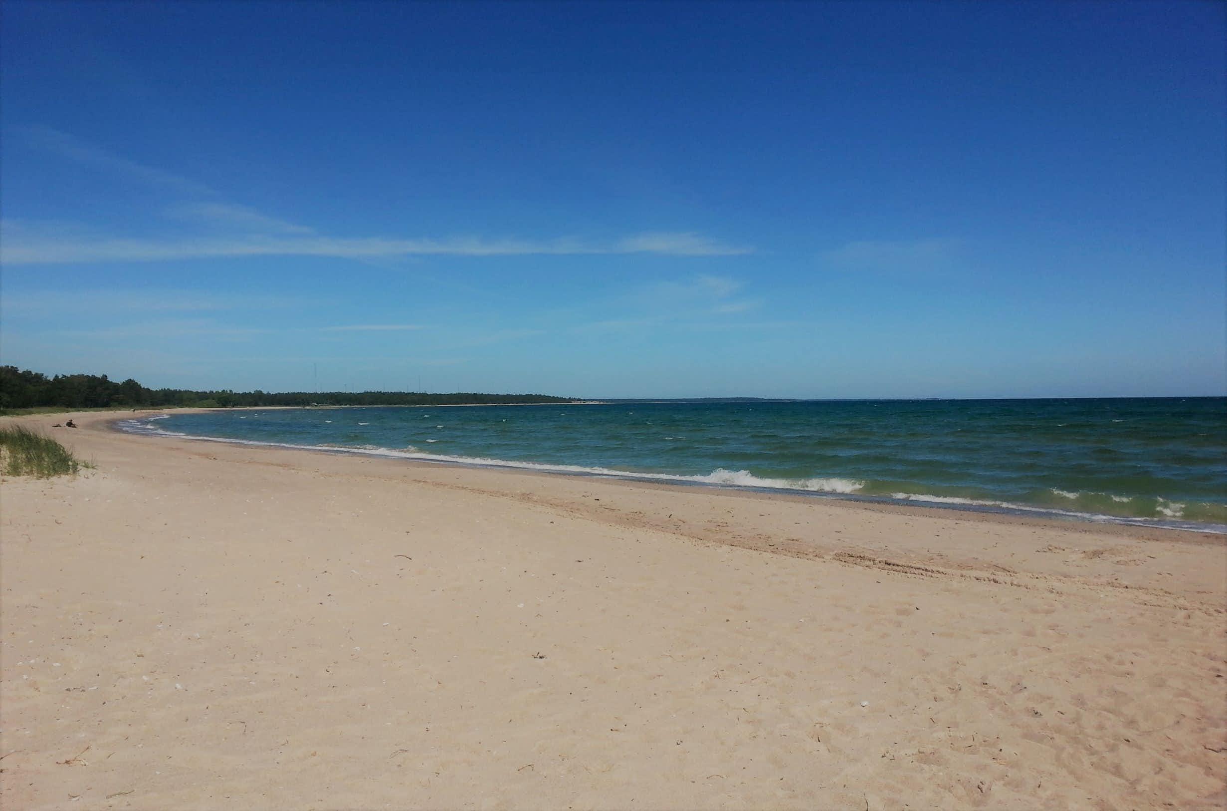 Stranden i Ljugarn