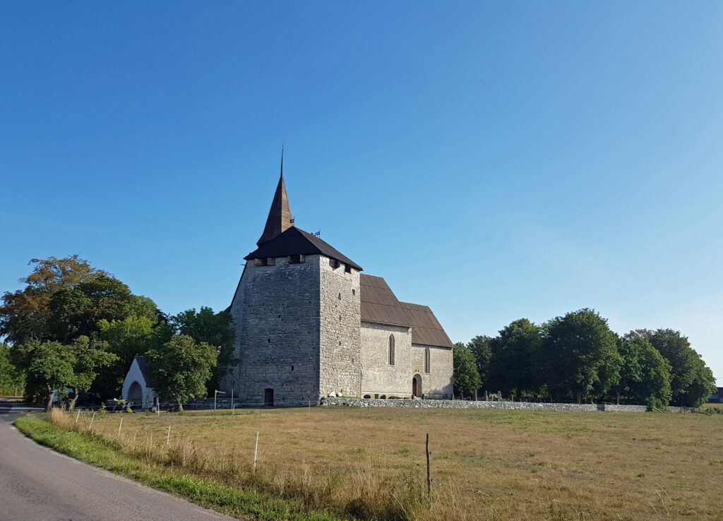Gammelgarn kyrka från medeltiden