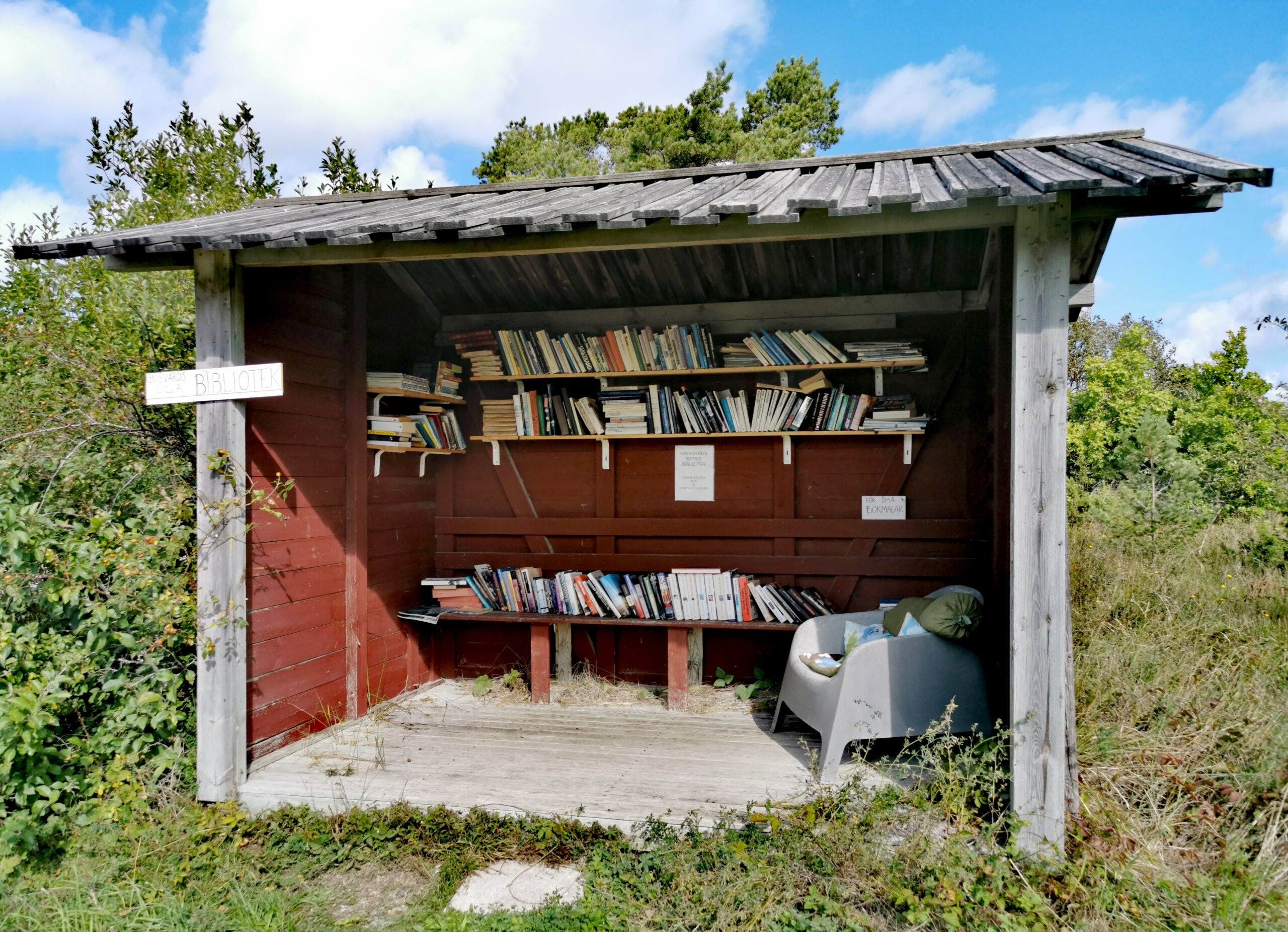 Litet bibliotek i Gnisvärd